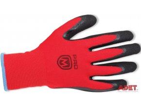 pracovne rukavice promacher manos gloves black red