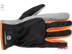 pracovne rukavice promacher carpos gloves grey orange