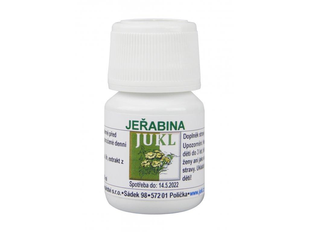 JUKL Tinktura Jeřabina 30 ml (1 balení 1x 30 ml)