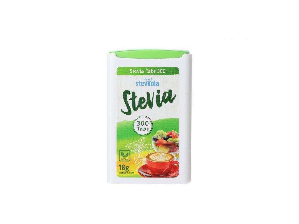 Steviola - Stévia tablety v dávkovači 300 tbl. (1 balení 1x 300 tablet)