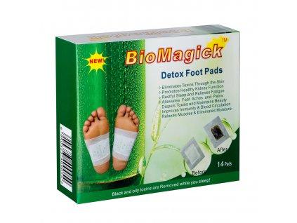 Biomagick Detoxikační náplasti 14 ks (1 balení 1x 14 ks)