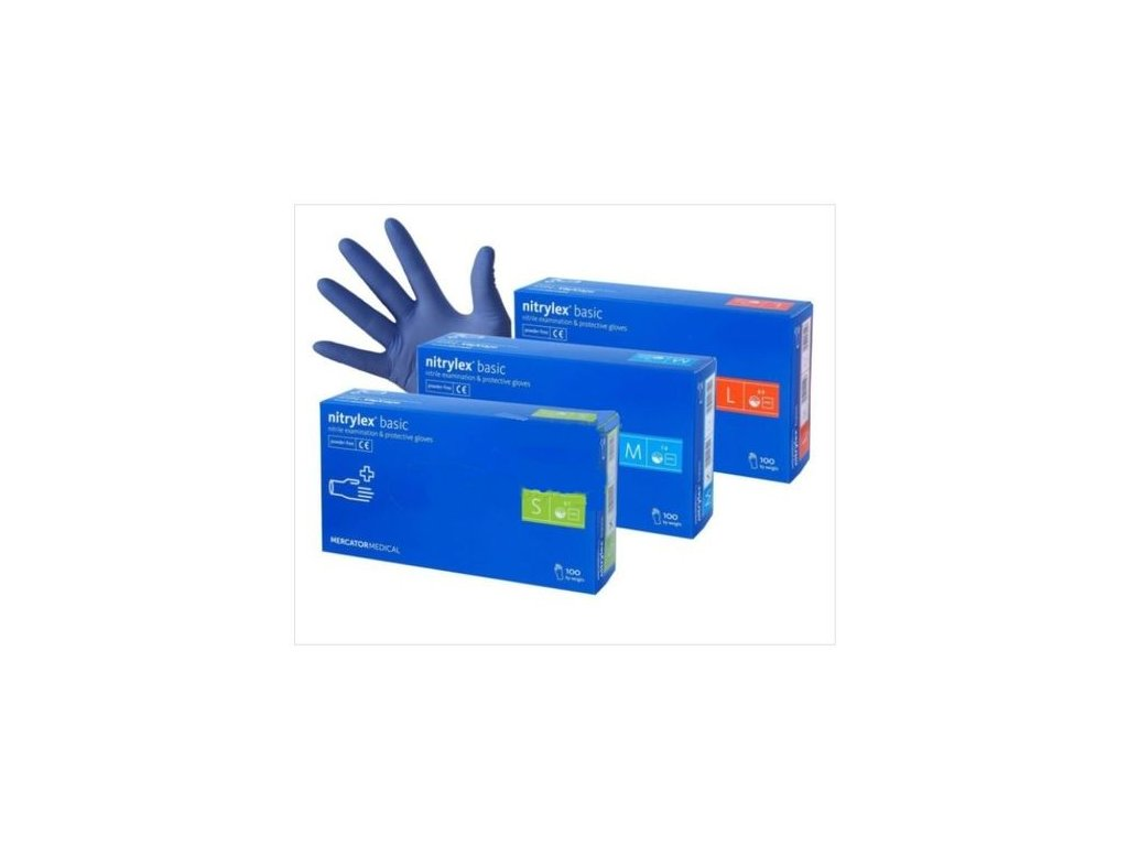 NITRYLEX® basic Nitrilové rukavice