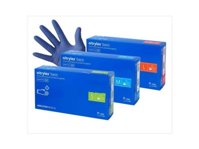 Nitrilové rukavice -