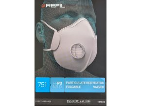 REFIL 751 FFP3 NR D  vyrobeno v ČR
