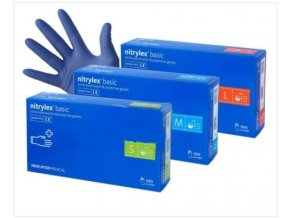 Nitrilové rukavice - L