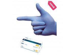 Nitrilové rukavice Medicare 200 ks  200 KS V BALENÍ