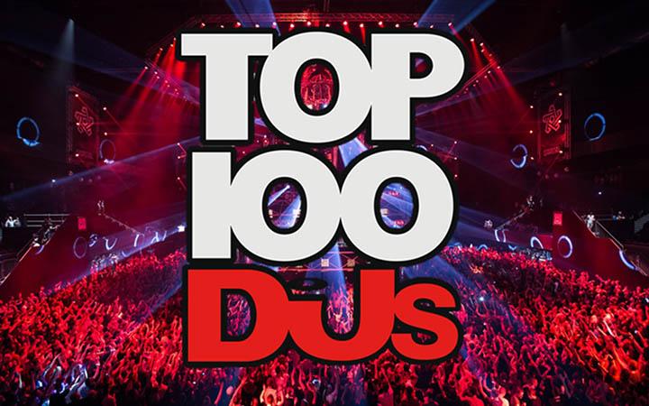 tričká, mikiny top 100 djs