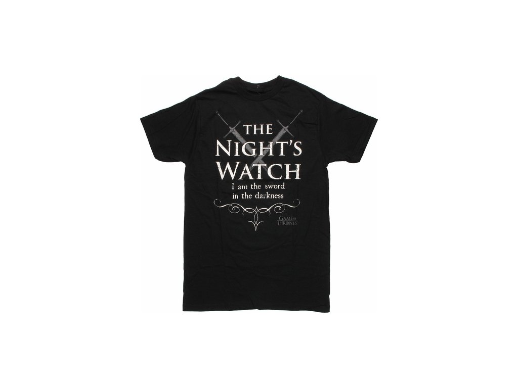 game of thrones nights watch crossed swords t shirt sheer 12