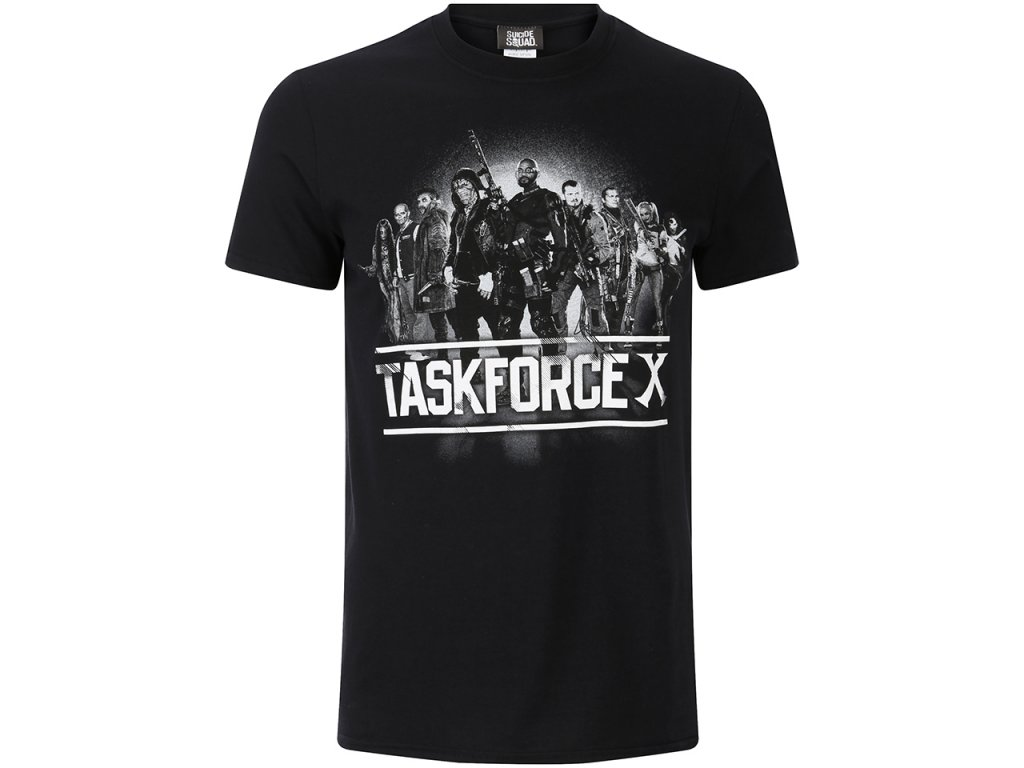 Pánske tričko SUICIDE SQUAD TASK FORCE X