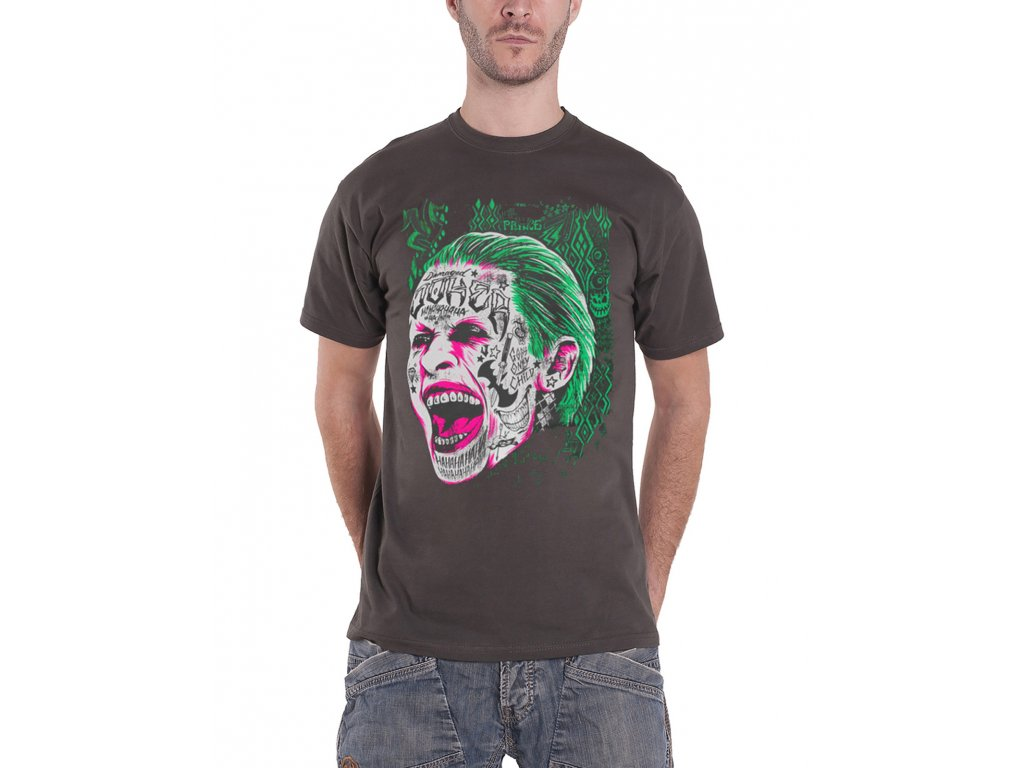 joker tattooed face mens