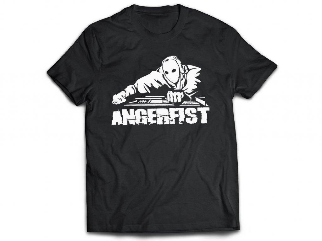 Pánske Tričko ANGERFIST LOGO