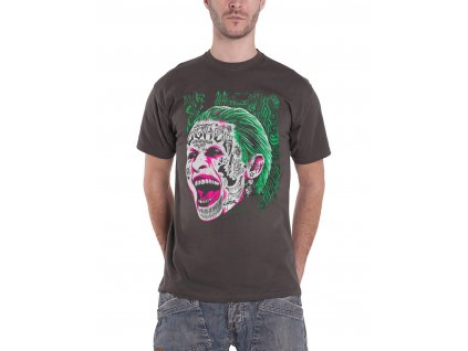 joker tattooed face mens
