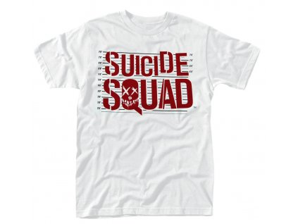 suicide squad logo line up t shirt 1