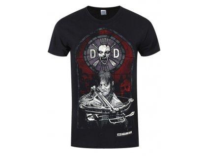 ef1fdc0147d7cf11fa39dd5f284fa1ea stained glass black t shirt