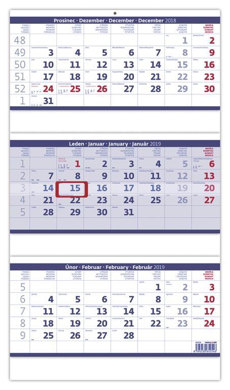 Tříměsíční kalendáře