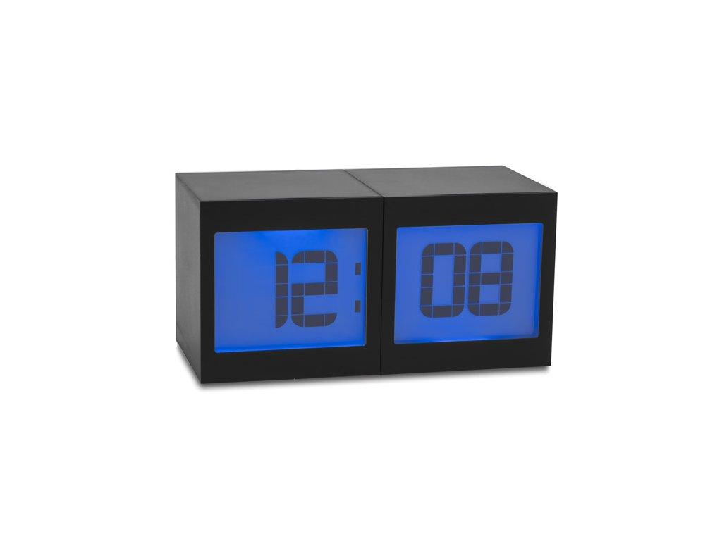 B03086|Stolní hodiny s teploměrem a vlhkoměrem|Reklamní předměty s potiskem i bez potisku|Reklamní potisk|černá