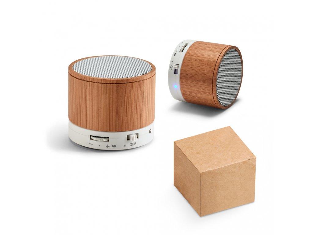 M mix|Reklamní IT + PC dárky s potiskem i bez potisku|Reproduktory bluetooth|bambusové reproduktory