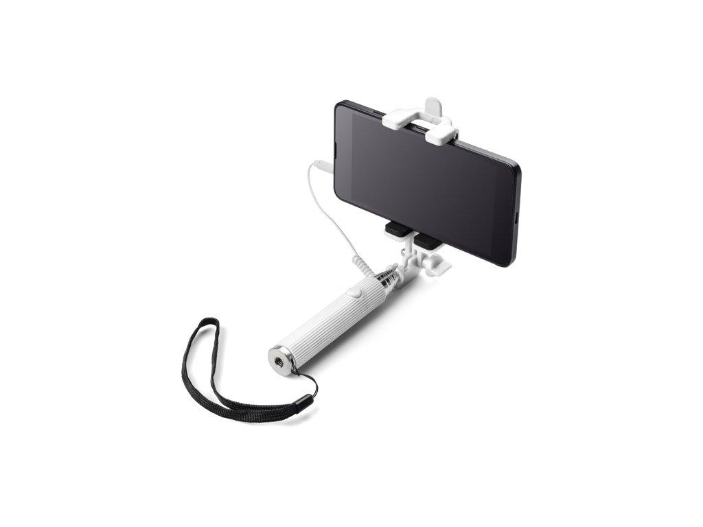 B09098-01|selfie teleskopicky držák na mobily|Reklamní předměty a dárky|Reklamní potisk|Pro firmy|bílá