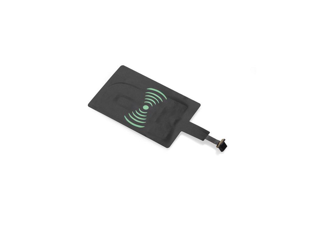 B09088:micro usb nabíjecí podložka pro bezdrátové nabíjení telefonu