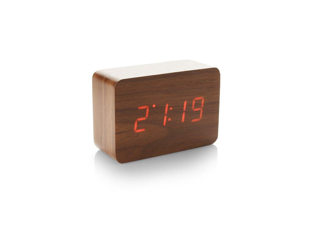 B03079|Kancelářské stolní hodiny se zvukovým zapnutím a vypnutím↑Teploměr|Budík|Reklamní předměty s potiskem i bez potisku