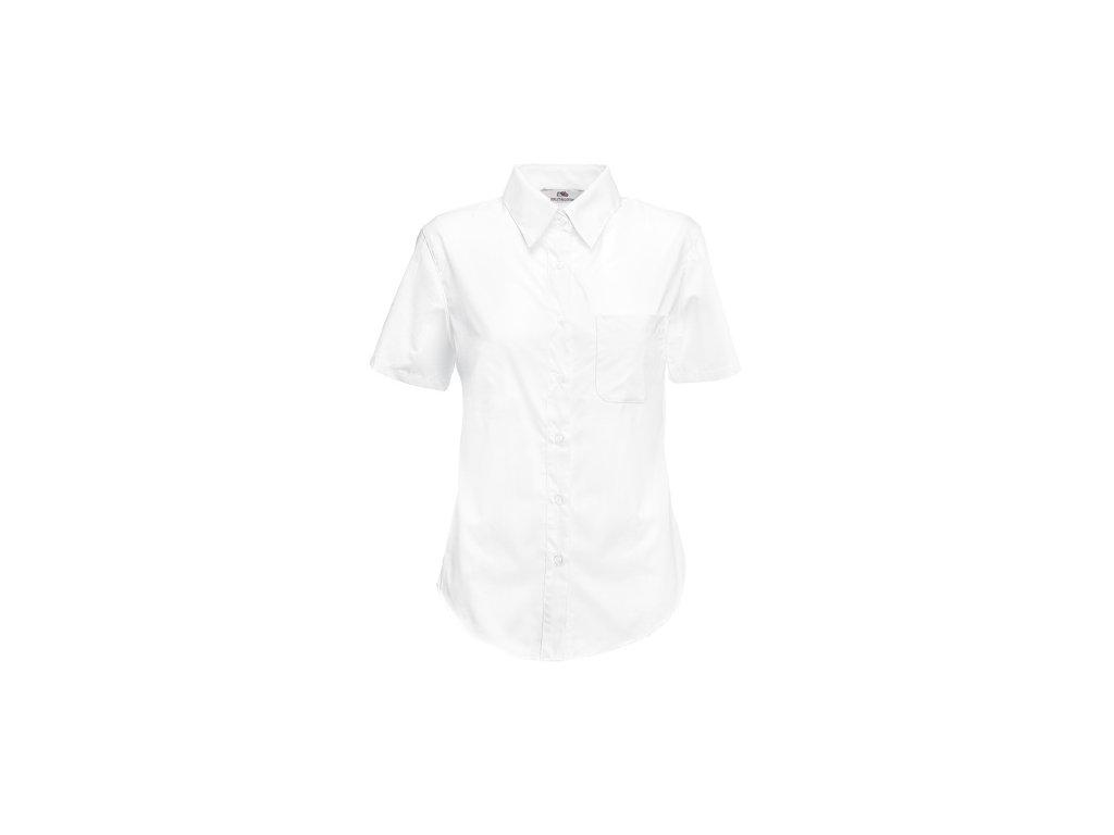 A180106 bílá firemní košile