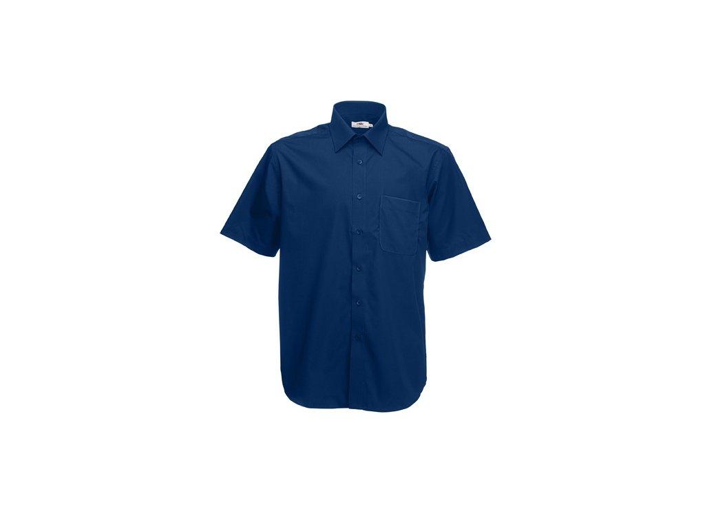 ... A140.106 tmavě modrá košile pánská firemní pracovní košile ... b345e63d5a