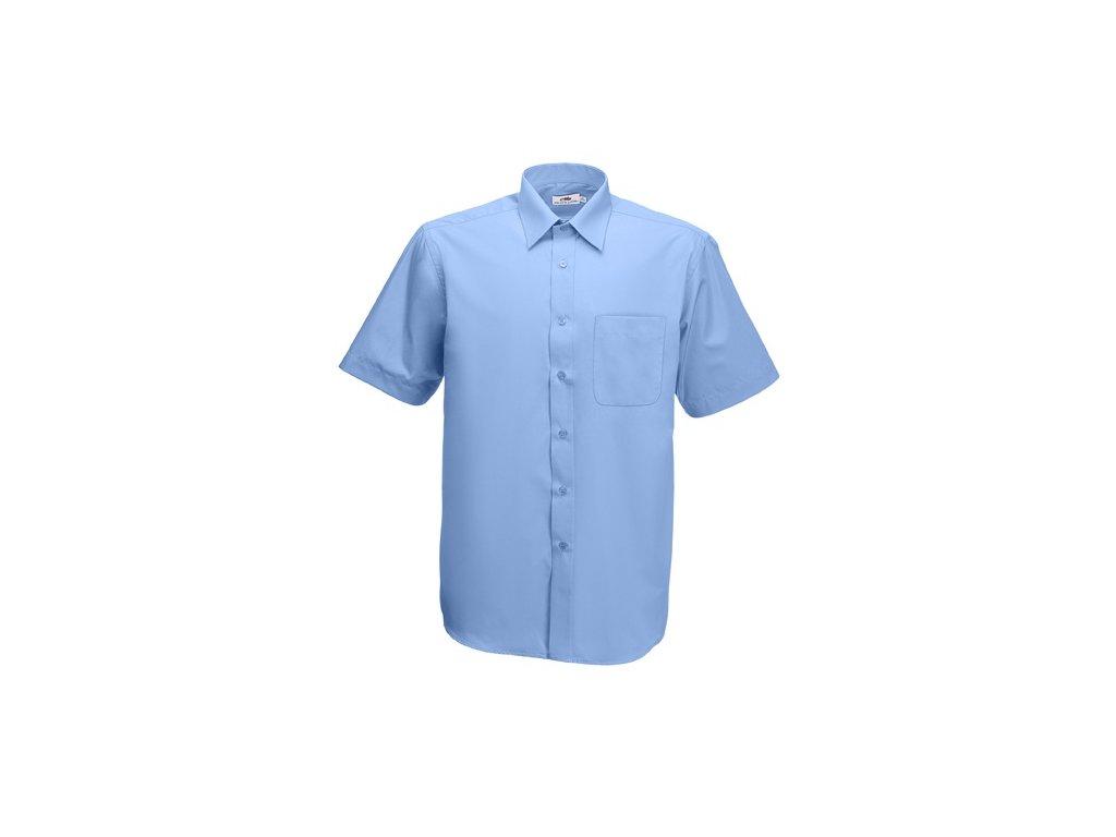 ... A140.106 světle modrá reklamní košile gastro košile pracovní firemní  oděvy 2176e80c65