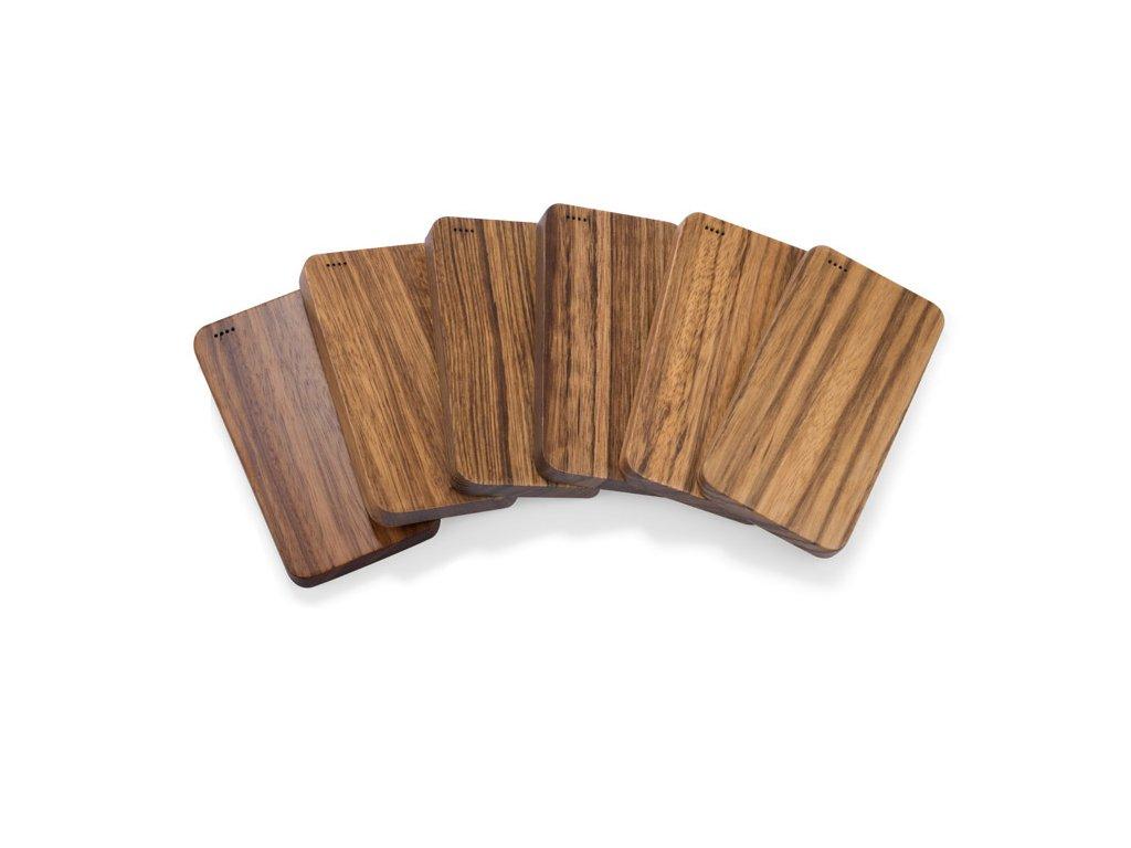 www.adonai - Váš partner pro reklamní předměty - 0045078-09 reklamní mimořádně výkonná powerbanka vhodná k potisku loga firmy, dřevěná