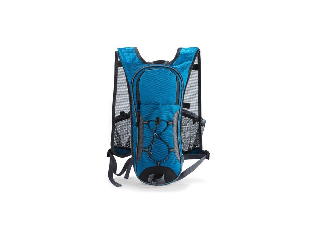 B20272 03 f|Cestovní sportovní batohy s potiskem pro firmy|Batohy na kolo s možností instalave vodní nádrže na vodu|Modrá|Tyrkysová