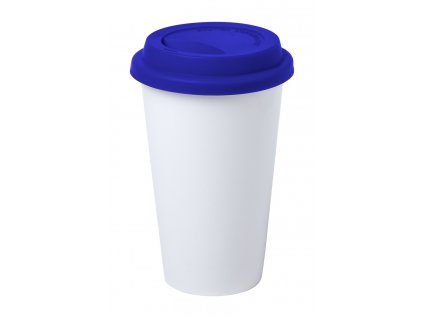M721389 06/Potisk hrnků, reklamní hrnky , ekologické keramické hrnky na opakované použití kávy sebou/ bílá,modrá