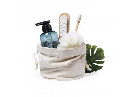 M721963-1/ ekologické reklamní dárky/ kosmetické tašky, vaky a obaly na kosmetiku a hygienické potřeby/ přírodní
