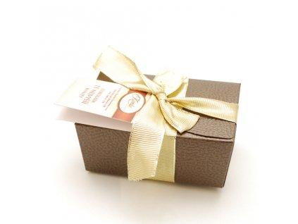 BONBONY v dárkovem balení/ čokoládové pralinky v krabicče, 200 g/ firemní dárky/ propagační dárky a předměty s potiskem pro firmy