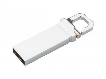 m7897054-21 4gb/8gb/16 gb - kovové usb flash disky pro firemní potisk/ stříbrná