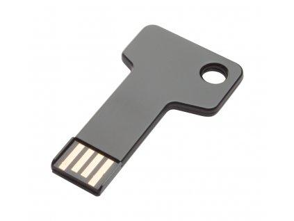 M897078 -10 -16gb/ USB FLASH DISK VE TVARU KLÍČE/ REKLAMNÍ POTISK NA USB FLASH DISKY/ KAPACITA USB FLASH DISKŮ 4 GB/8GB/16 GB/ ČERNÁ