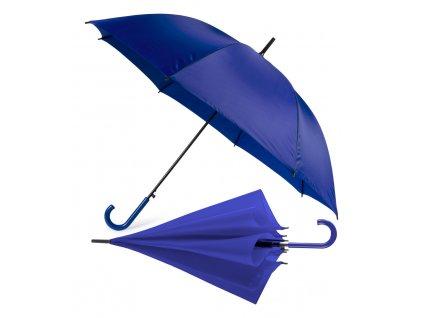 M741692-06/Nejlevnější deštníky|Reklamní deštníky|Prodej a reklamní potisk|červená klasický holový deštník s plastovou rukojet|MODRÁ