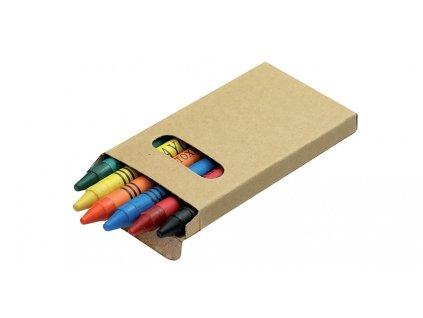 B19802|Pastelky-voskovky|Kvalitní voskovky které se nelámou a při malování a kreslení nešpiní|Propagační voskovky na rozdávání  jako firemní dárky pro děti