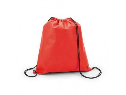 M809442-05|Outdoor vaky a batohy|Stahovací turistické vaky na záda|Reklamní dárky pro obchodníky a cestovní kanceláře|červená