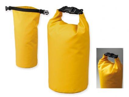 M741836-02 |Sportovní nepromokavý vak/vaky na vodu|voděodolný vak |REKLAMNÍ VAKY, BATOHY A TAŠKY|REKLAMNÍ PŘEDMĚTY S POTISKEM|žlutá