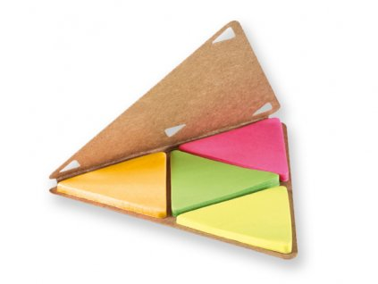 M721132-00|Ekologické lepící bločky a papírky|Reklamní kancelářské dárky pro firmy s potiskem loga