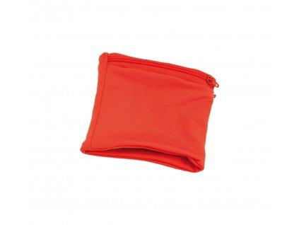 M791237 05/ SPORTOVNÍ KAPSIČKY NA ZÁPĚSTÍ na drobnosti a peníze/ Prodej a potisk reklamních předmětů/ červená