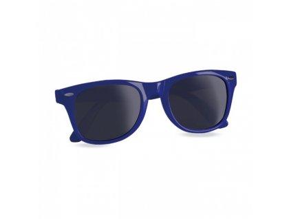 A826.050 sluneční plastové brýle 400 UV Reklamní potisk na brýle proti slunci Modré brýle