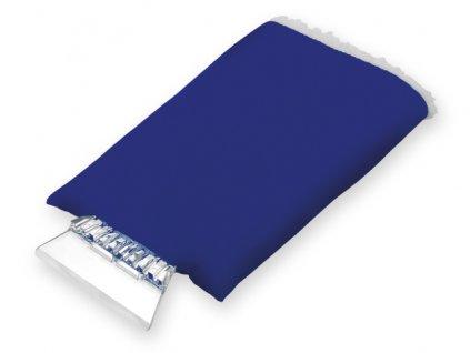 001157-24 |Reklamní potisk na AUTO škrabky na okno|tmavě modrá autoškrabka plastová s rukavicí