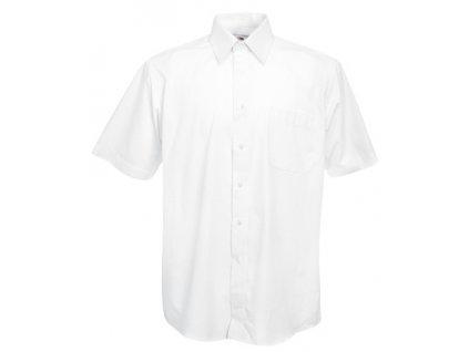 A140.106 bílá pánská pracovní košile