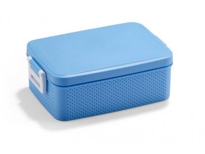0016508-08 modrá krabička na jídlo se lžící