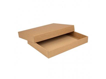 Dárková krabice s víkem bez okénka*dárkové balení textilu*triček*mikin*košil*reklamní předměty