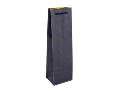 taska na vino modra 12x9x36