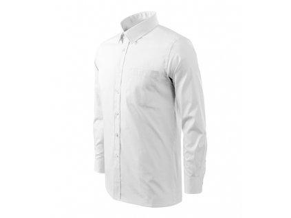 A209-00|Reklamní košile|Pánská košile|Pánské košile s potiskem|Bílá