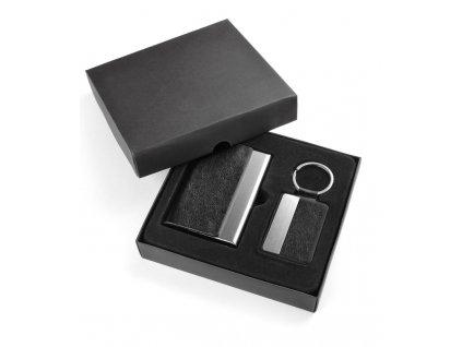 0017664 -Dárkový set vizitkovník a klíčenka