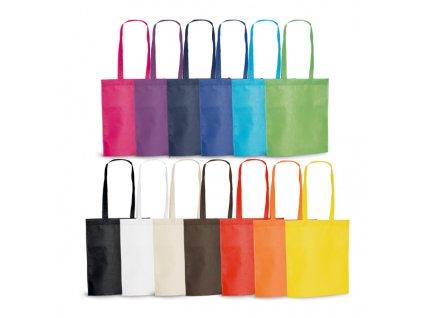 034076-10|Reklamní tašky na nákup|Reklamní předměty pro firmy|Reklamní tašky,batohy, nákupní taška polaminovaná černá