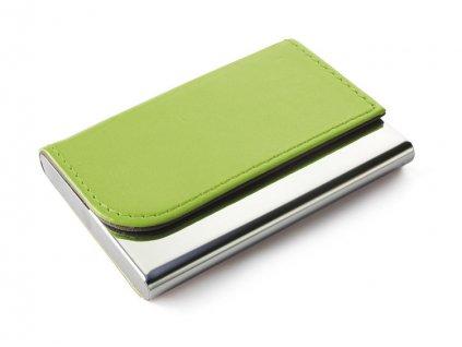 0017519-13  Luxusní moderní vizitkář zelená barva